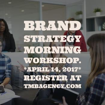 Brand Strategy Workshop 2017 Montreal.