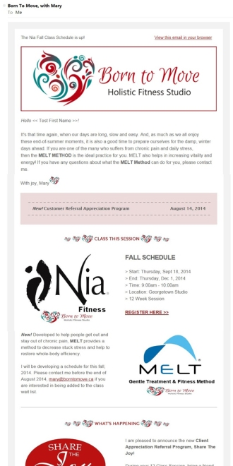 Nia Fitness Newsletter-Marketing_Boutique_Agency