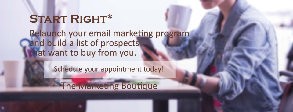 Start Right Email Marketing Program
