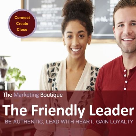 The Friendly Leader Cover2 - The Marketing Boutique