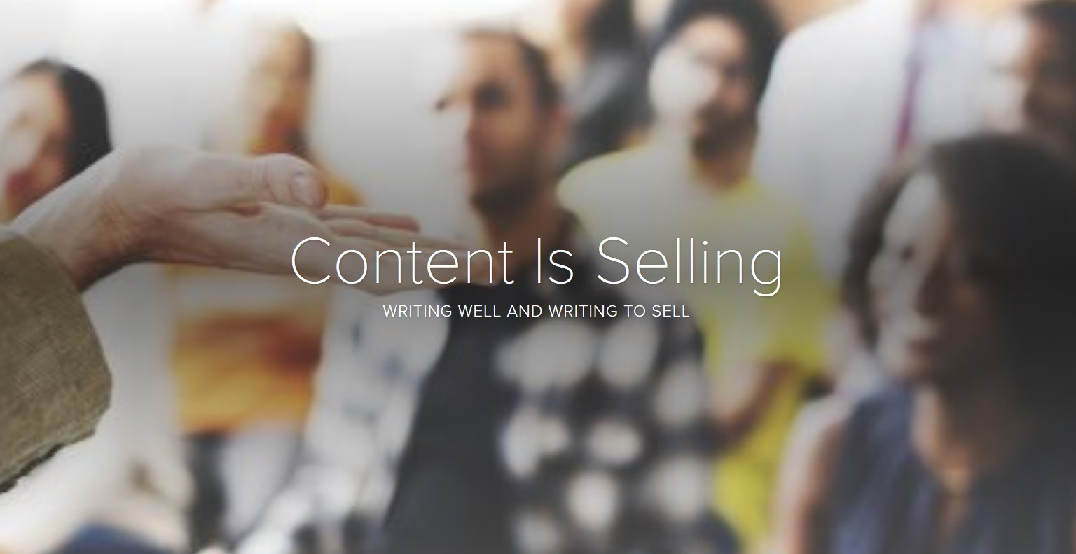 Content Is Selling